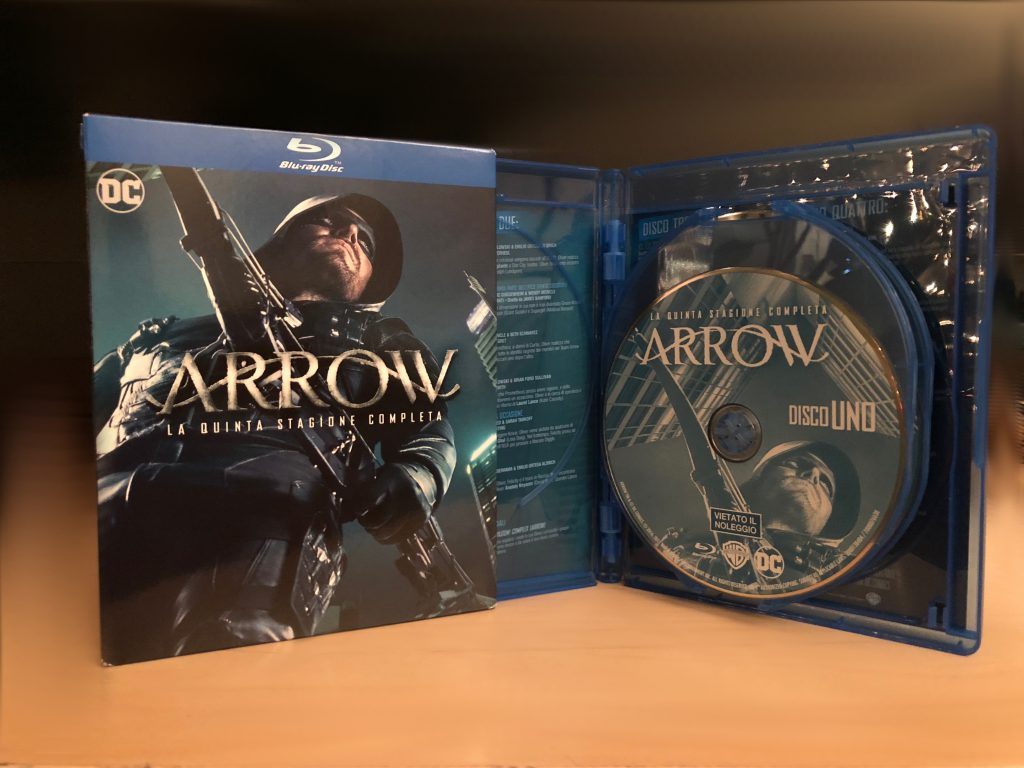 Arrow Blu-ray stagione 5