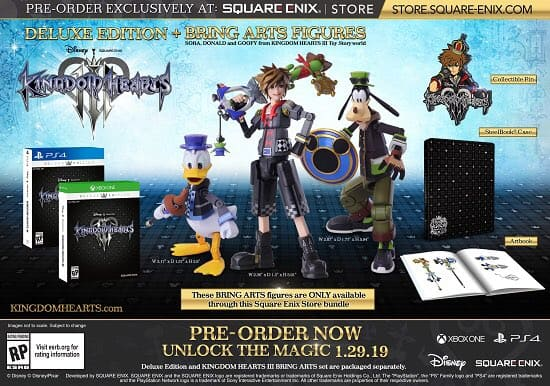 Kingdom Hearts III non arriverà su Nintendo Switch