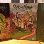 Rick and Morty DVD collection