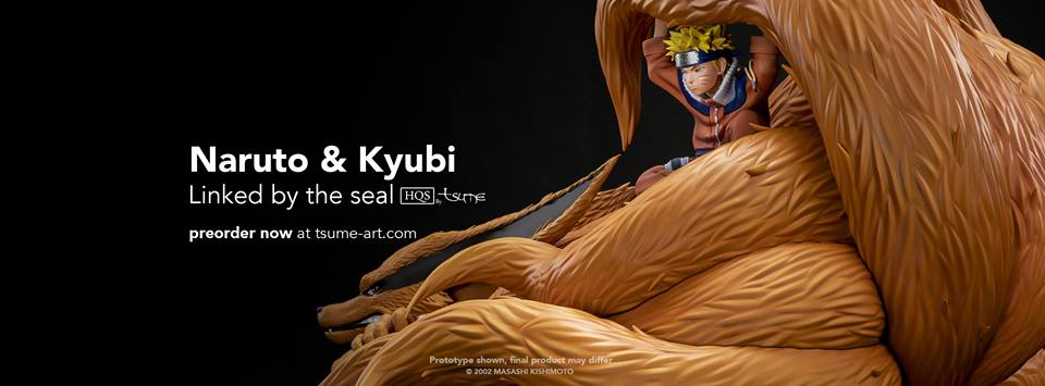 Naruto & Kyubi – Linked by the seal tsume art