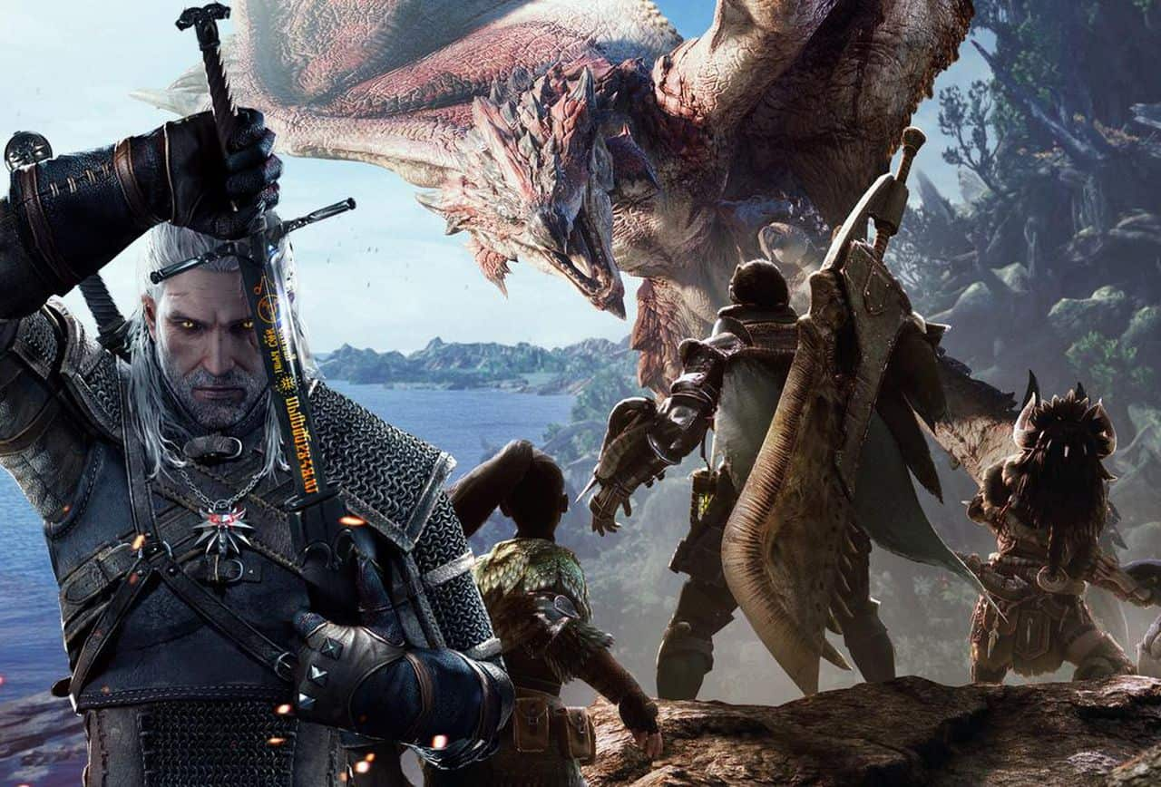 the witcher-monster-hunter-crossover