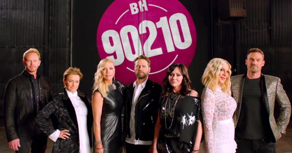Beverly Hills 90210 cast https