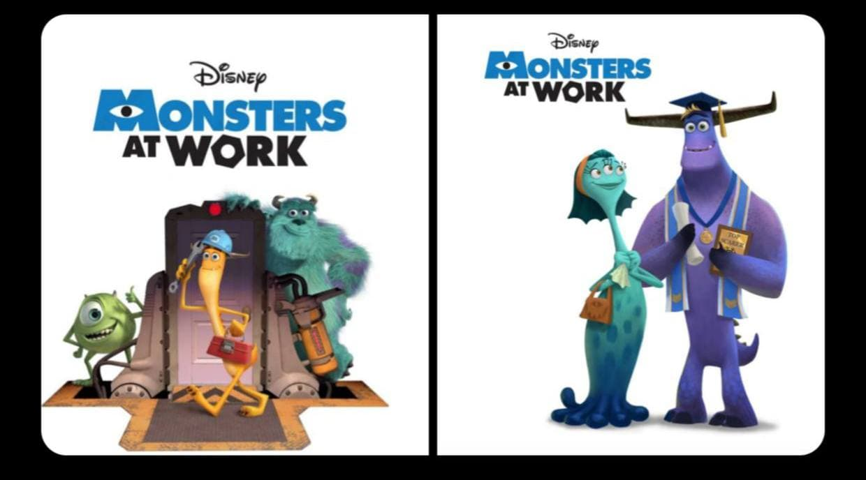 monsters at works