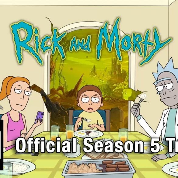 rick & morty stagione 5
