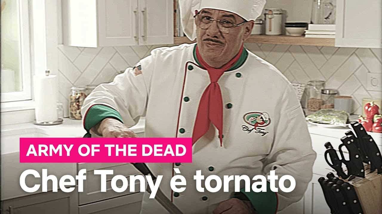 chef tony army of the dead